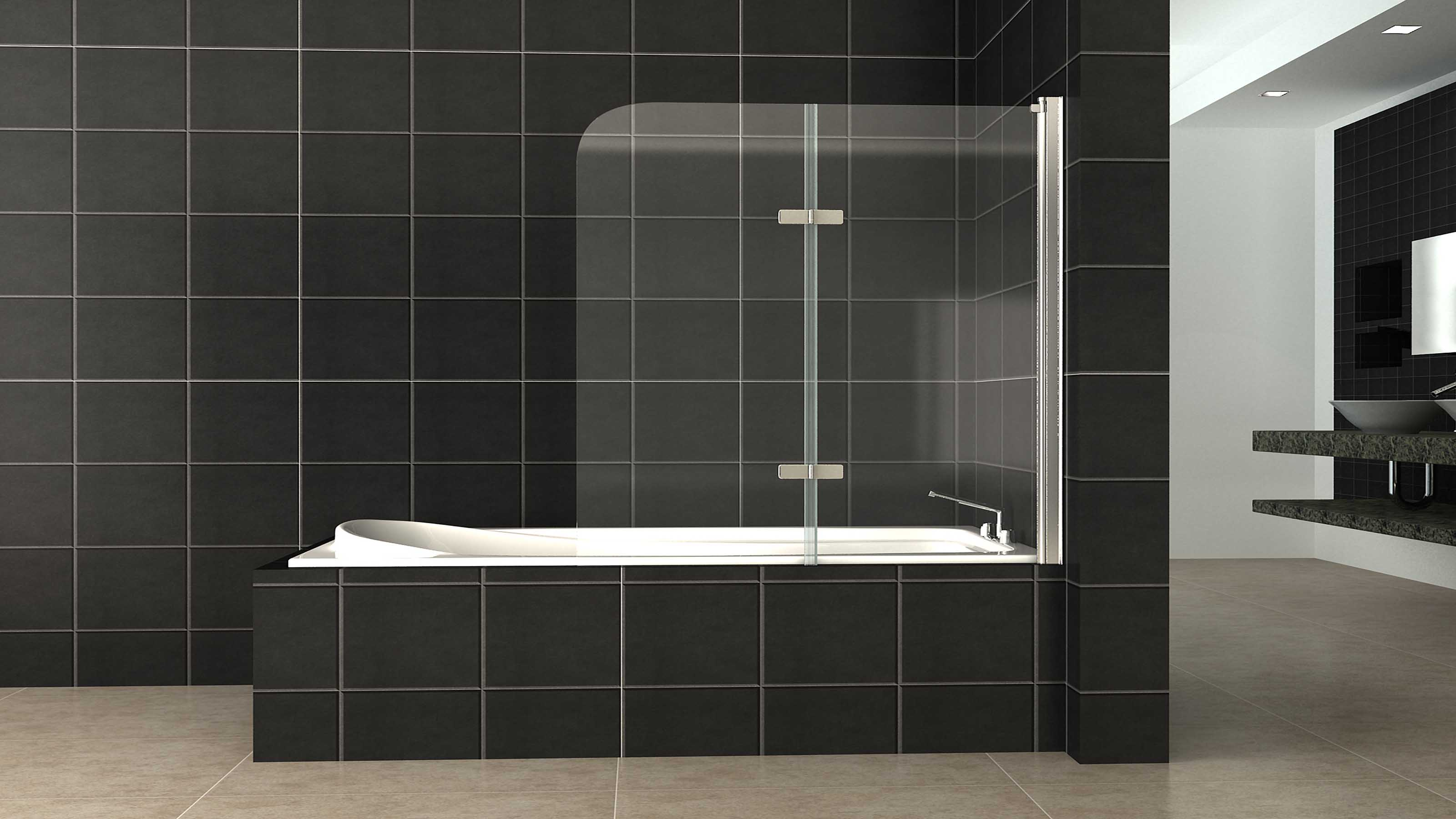 shower screens geelong frameless semi frameless glass. Black Bedroom Furniture Sets. Home Design Ideas